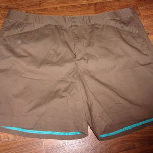 Venezia brown walking shorts size 26